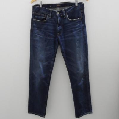 Polo Ralph Lauren Mens Size 28 The Waverly Straight Crop Jeans Blue Denim