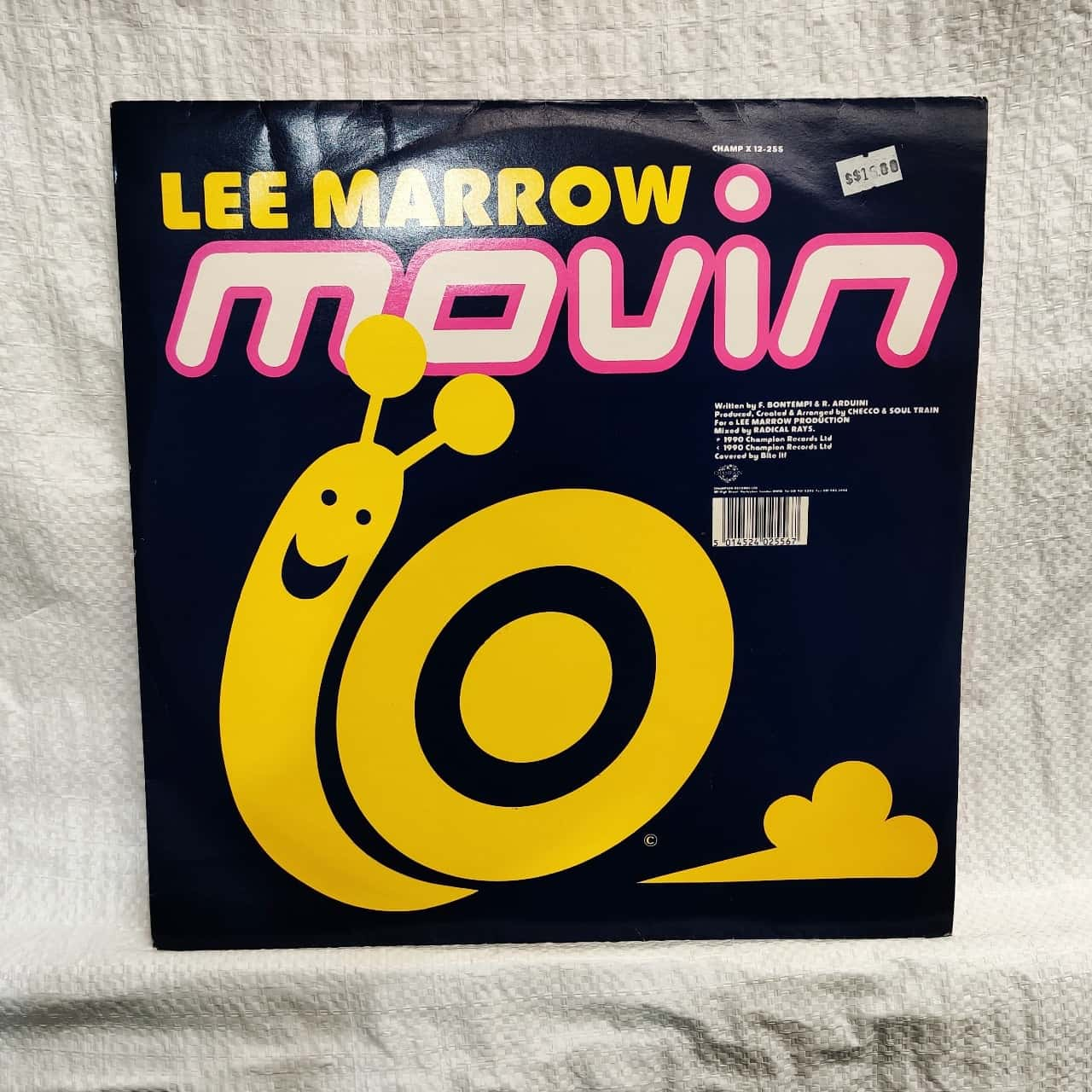 Vinyl Album - Lee Marrow - Movin
