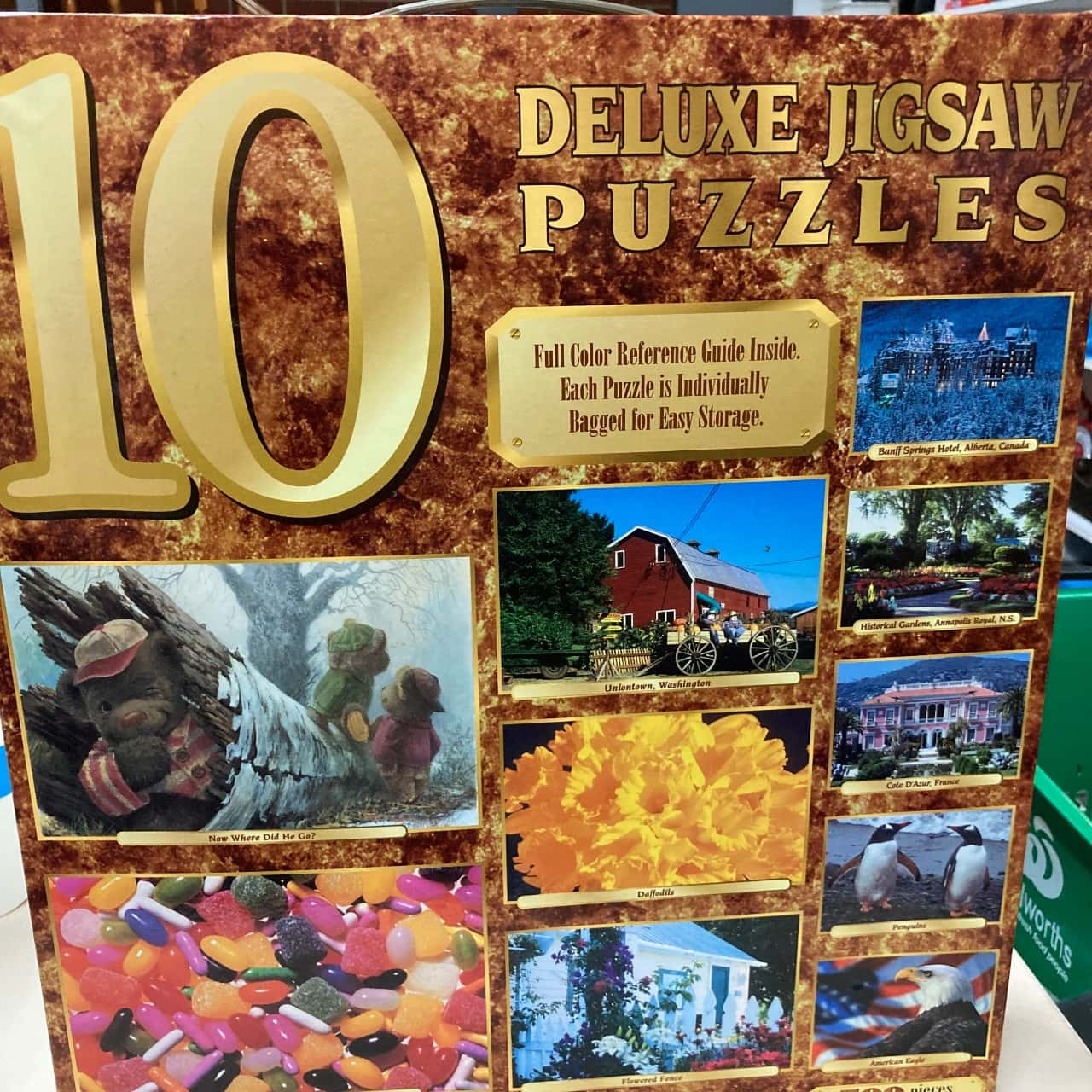 Deluxe Jig saw Puzzles