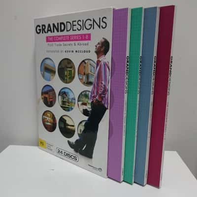 Grand Designs The Complete Series 1-8 DVD Boxset 24 Discs