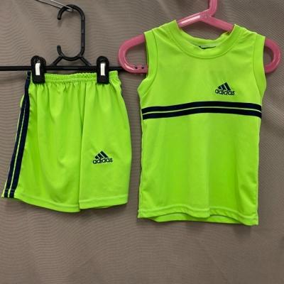 Adidas Kids Green Sports Jersey Size S Set