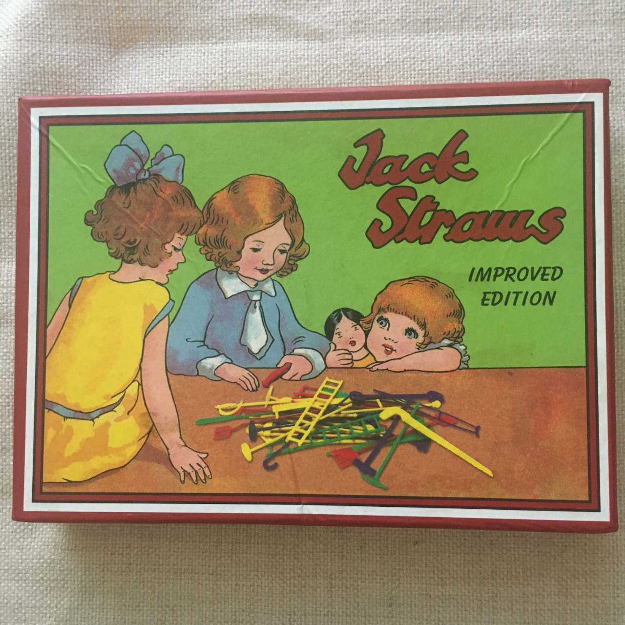 Jack Straws Improved Edition Board Game