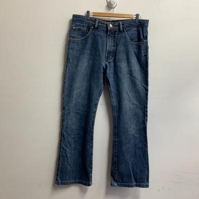 Pierre Cardin Men's Straight Cut Jeans Size 34 Blue