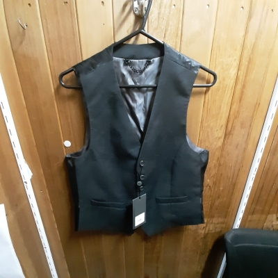 Mens Grey Vest Size 48 New With Tags