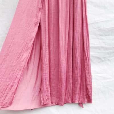 Zara Pink Maxi Skirt Size S