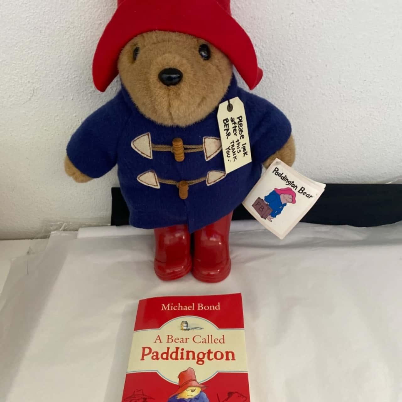 New Paddington bear and book