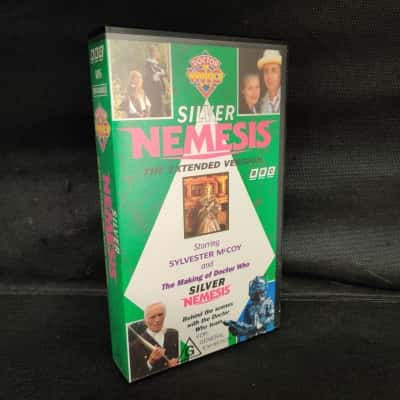 """Doctor Who """"Silver Nemesis""""  VHS Movie - The extended version"""