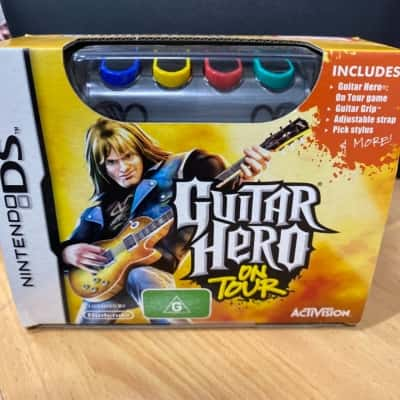 Nintendo DS guitar hero on tour