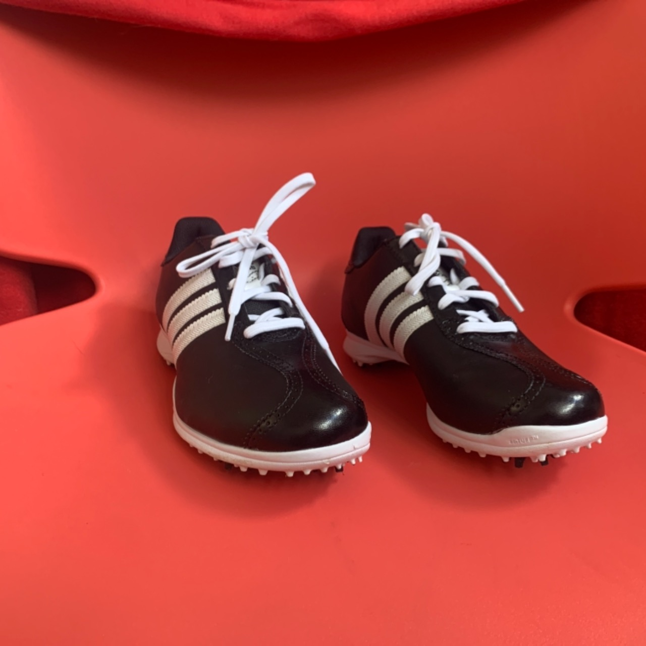 Adidas Traxion Men's Classic Golf Shoes US Size 8 Black /White