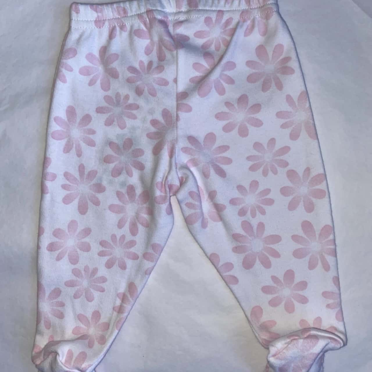 ** REDUCED LAST CHANCE  ** Baby Berry Kids Size 0000 Pink & White Bottoms - New With Tags