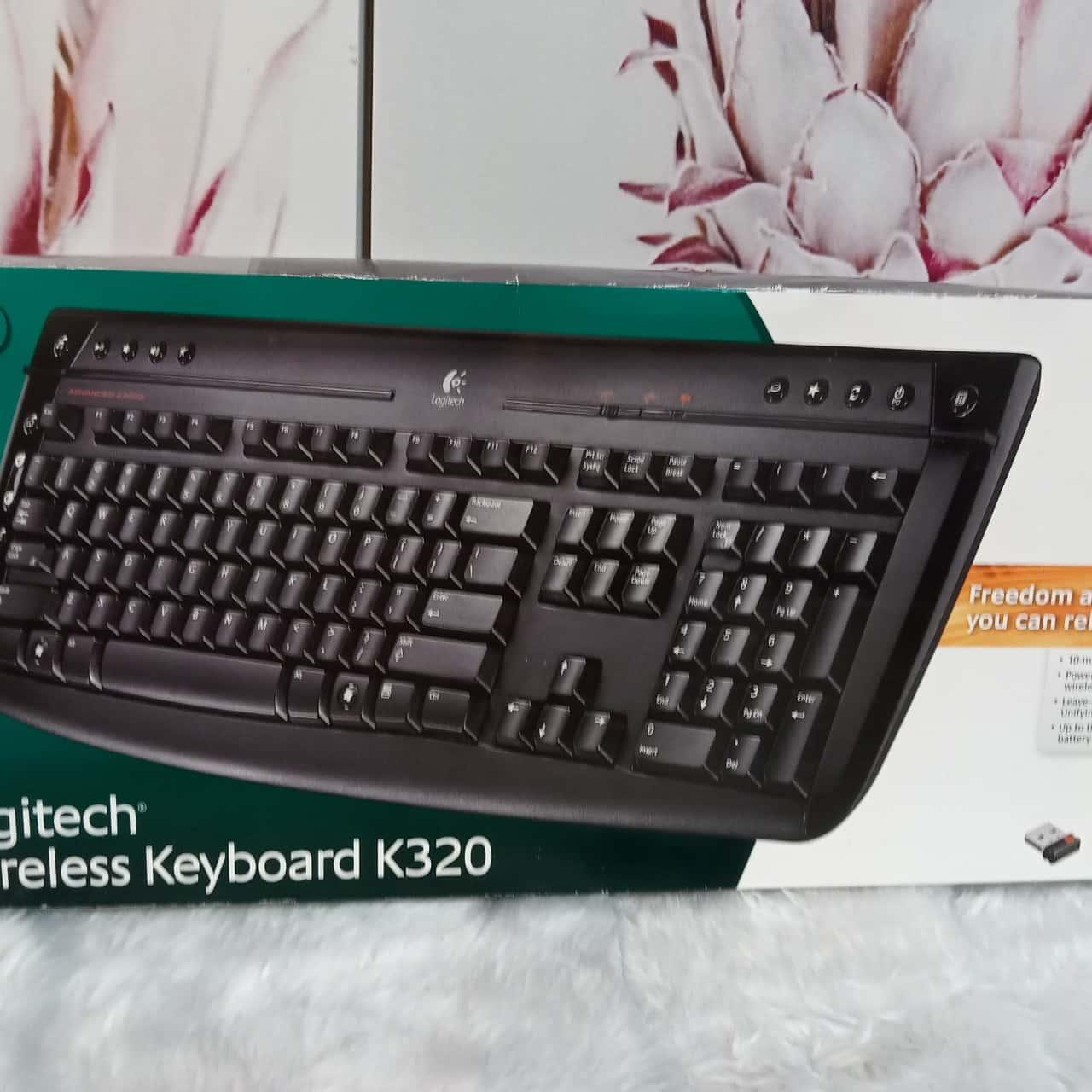 Logitech Wireless Keyboard K320