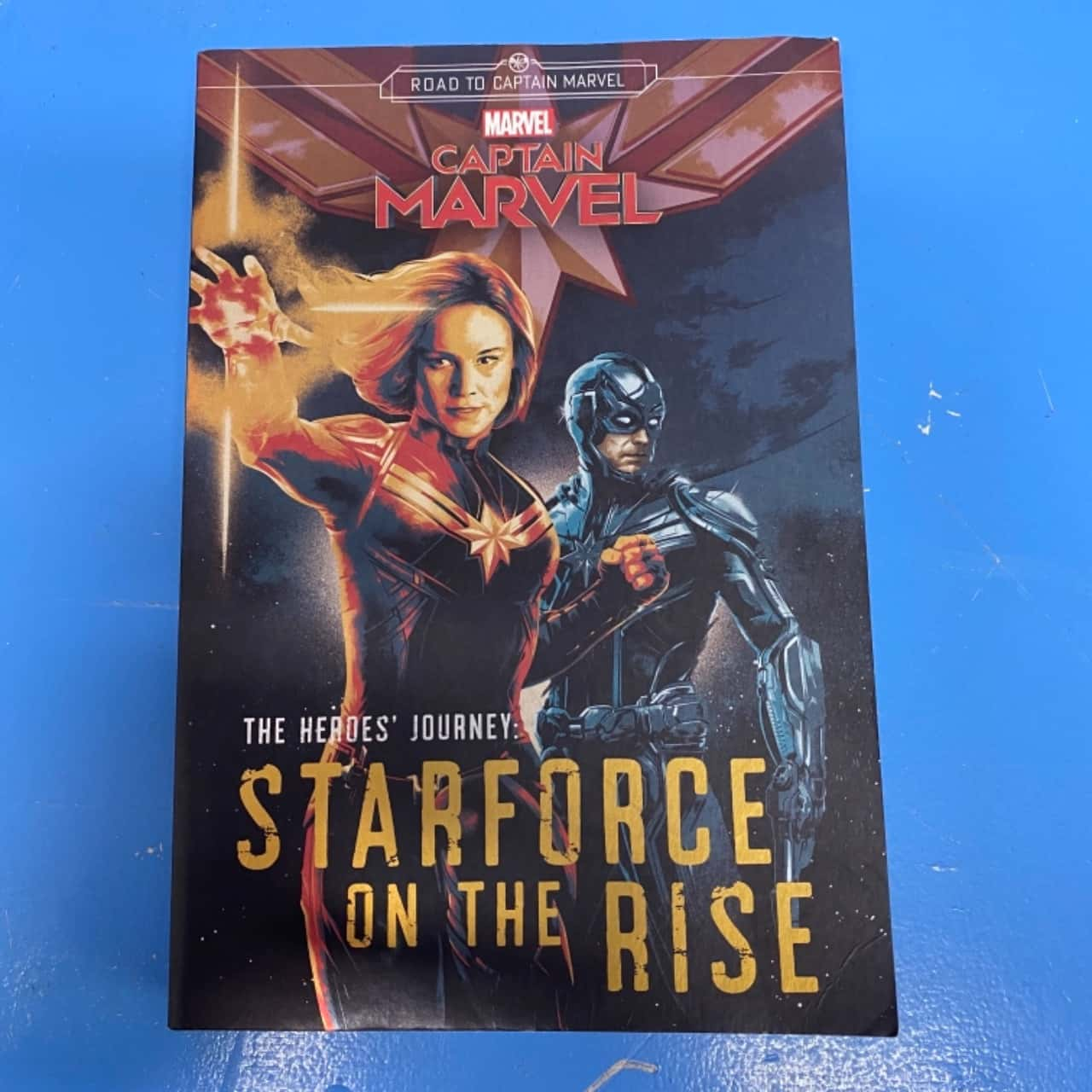 Captain Marvel The Hero's Journey: Star Force On The Rise Book
