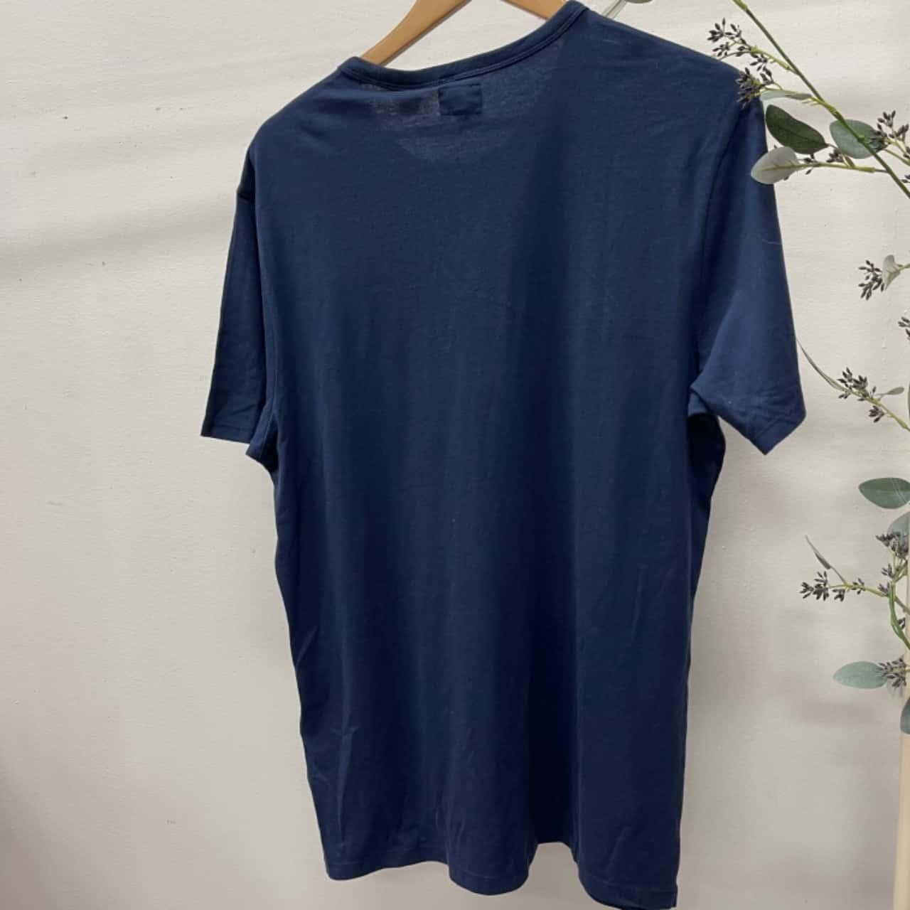 Levis Mens T-Shirt Blue L