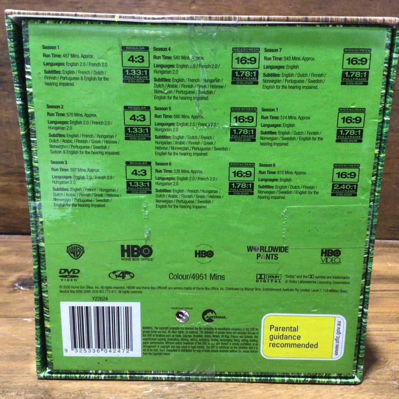 BNWT EVERYBODY LOVES RAYMOND COMPLETE SERIES RRP $119    44 Discs 9 seasons 210 Episodes