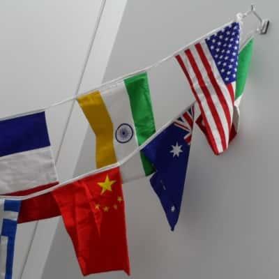 World Flag Bunting, Homeware Decotration