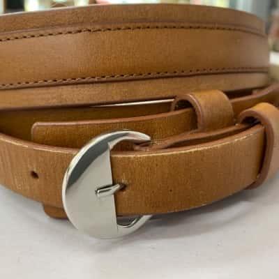 Womens tan Oroton belt size L