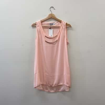 ** REDUCED ** L'Adore Women's Size 40 Pink Top - New With Tags