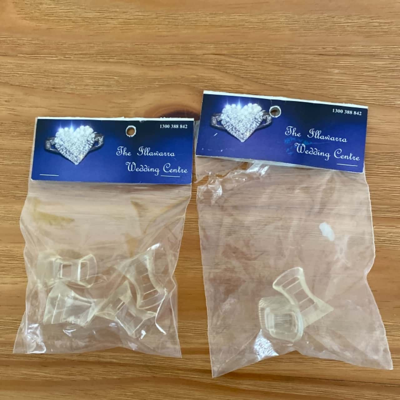 ** REDUCED ** The Illawarra Wedding Centre Three Womens Heal Stoppers