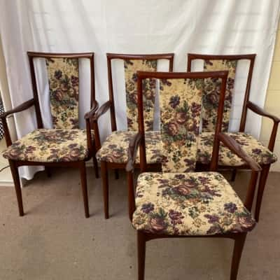 Parker Floral Tapestry Dining Chairs