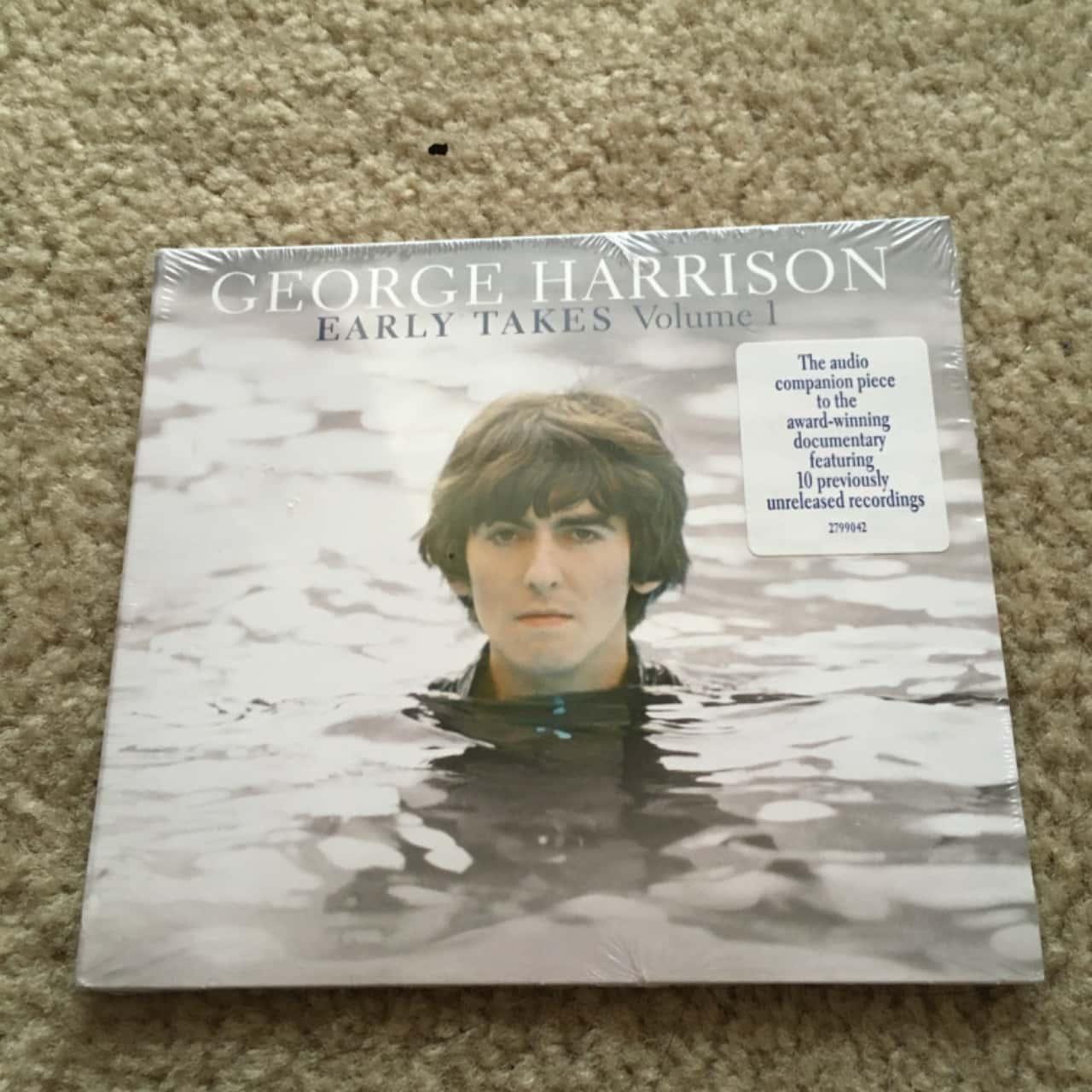 George Harrison Early Takes CD - Vol 1, BNWOT