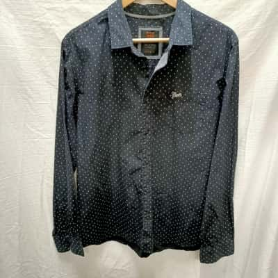 Mens Mooks Long Sleeve Shirt Size L