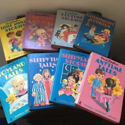 Enid Blyton Children Nighttime Story Books
