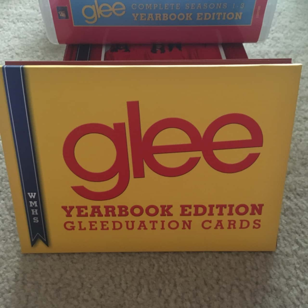 Glee DVD Boxed Set - Complete Season 1-3, Year Book Edition, Region 4/ PAL