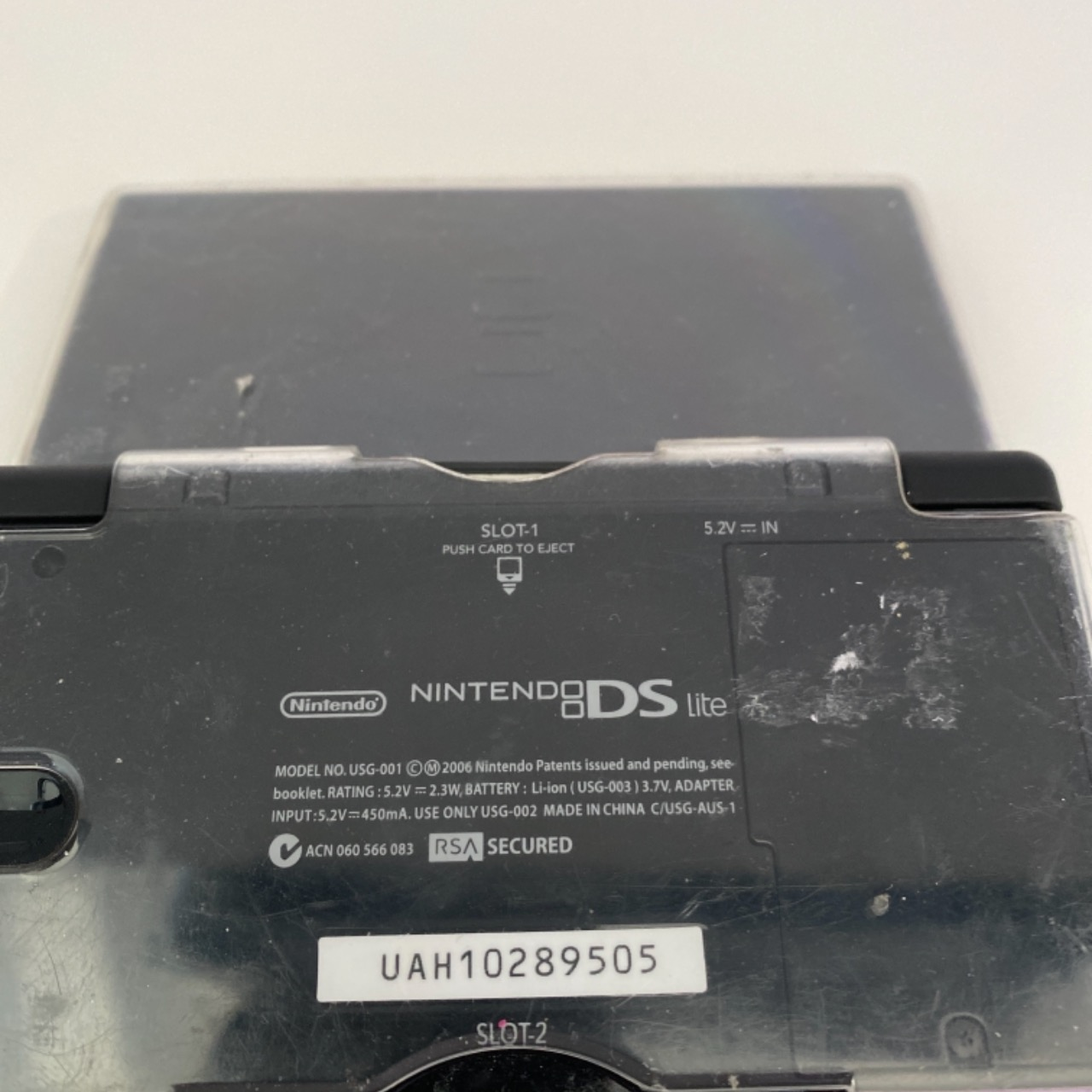 Nintendo DS Lite gaming console