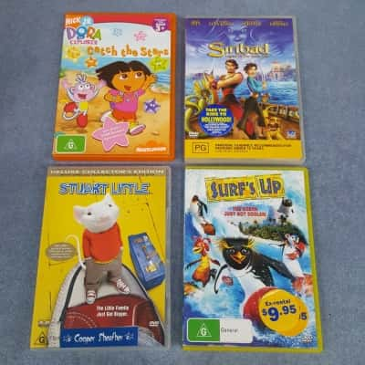 Kids -4- DVDS