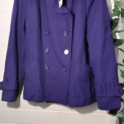 Sportsgirl Womens  Size 16 Purple Jacket