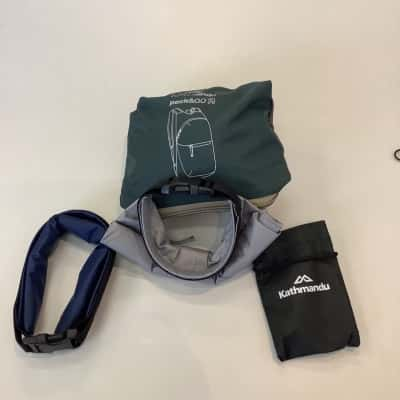 Sports Pack of Dry Sack, Pocket Pack and Utility Cutlery