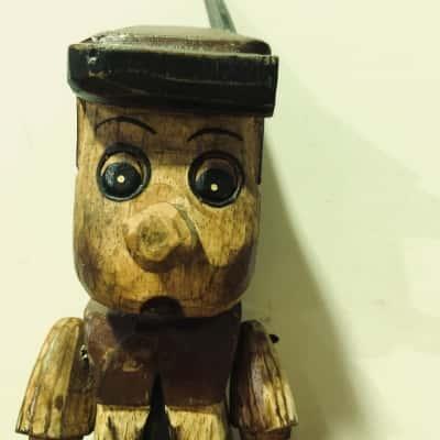 Wooden Pinocchio