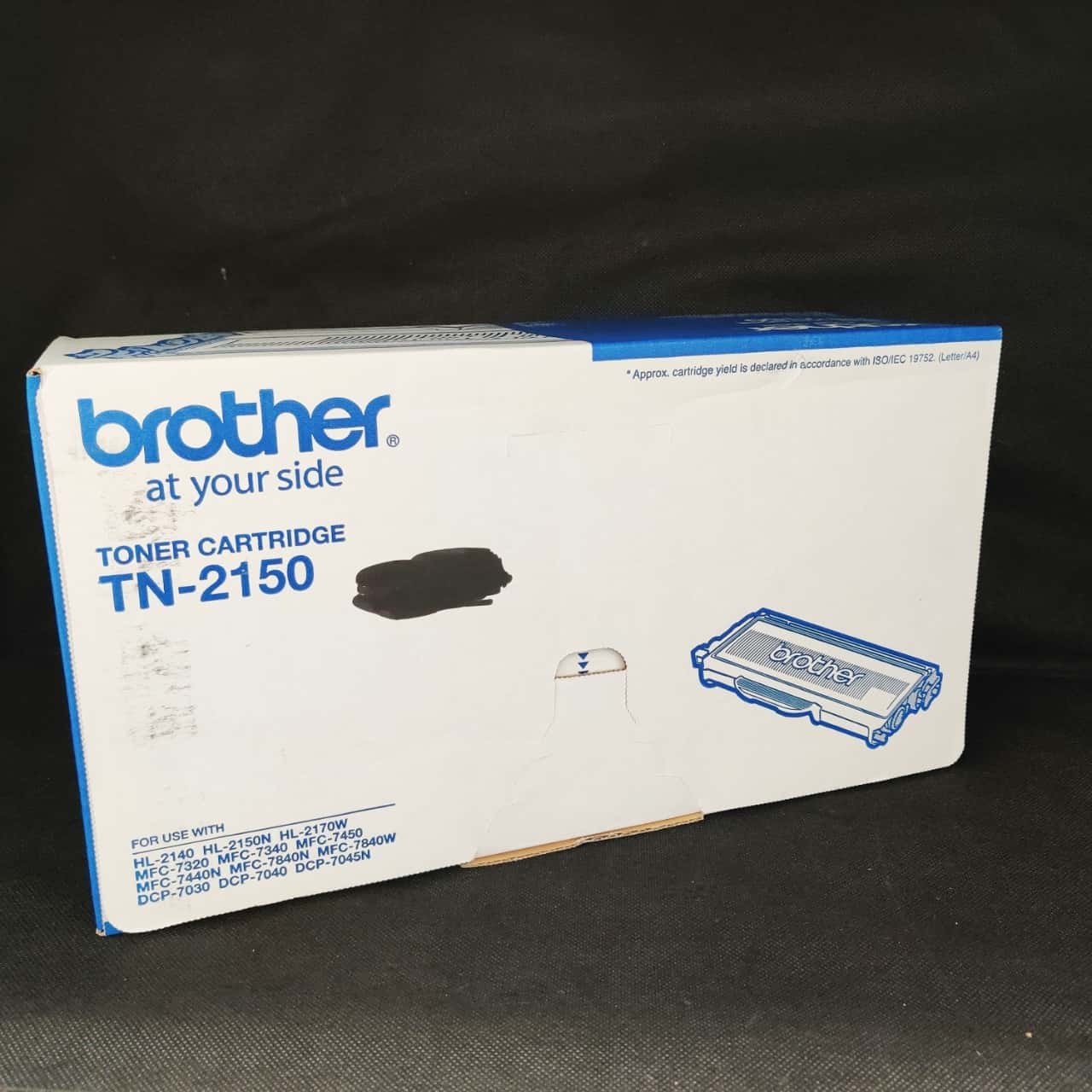 Brother TN-2150 Toner Cartridge for Brother Printers as per list on photo