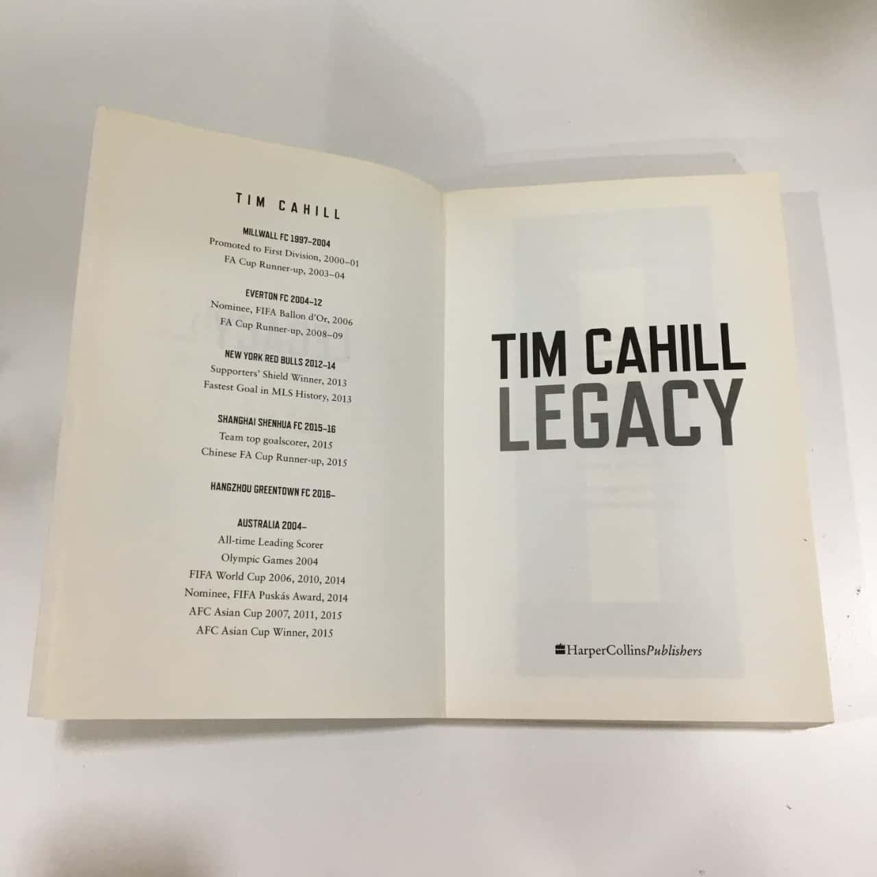 Tim Cahill Legacy