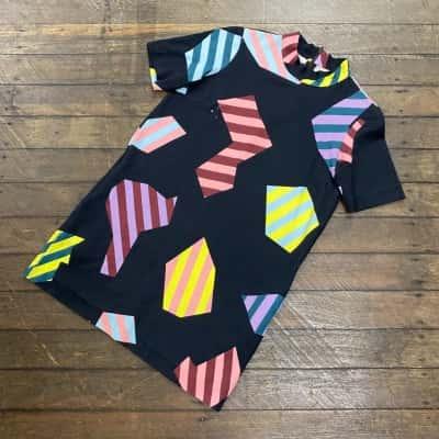 Gorman Womens Shift Dress Size 10 Black /Pattern