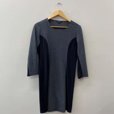 ** REDUCED ** Pingpong Women's Dress Size 10 Black /Grey