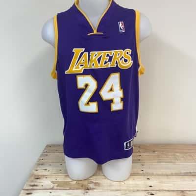 Koby Bryant Jersey  Size 46 Purple/Yellow