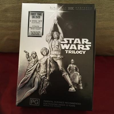 Star Wars Trilogy Boxed DVD Set - 4 Disc Region Code : 4/PAL