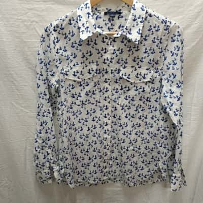 Mens Tommy Hilfiger Long Sleeve Shirt Size S