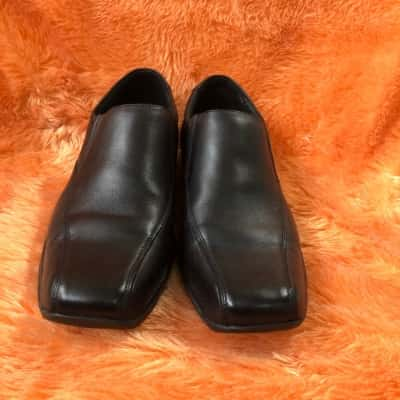 Prestige By Hush Puppies Mens Slip on Shoes Size 12 Black