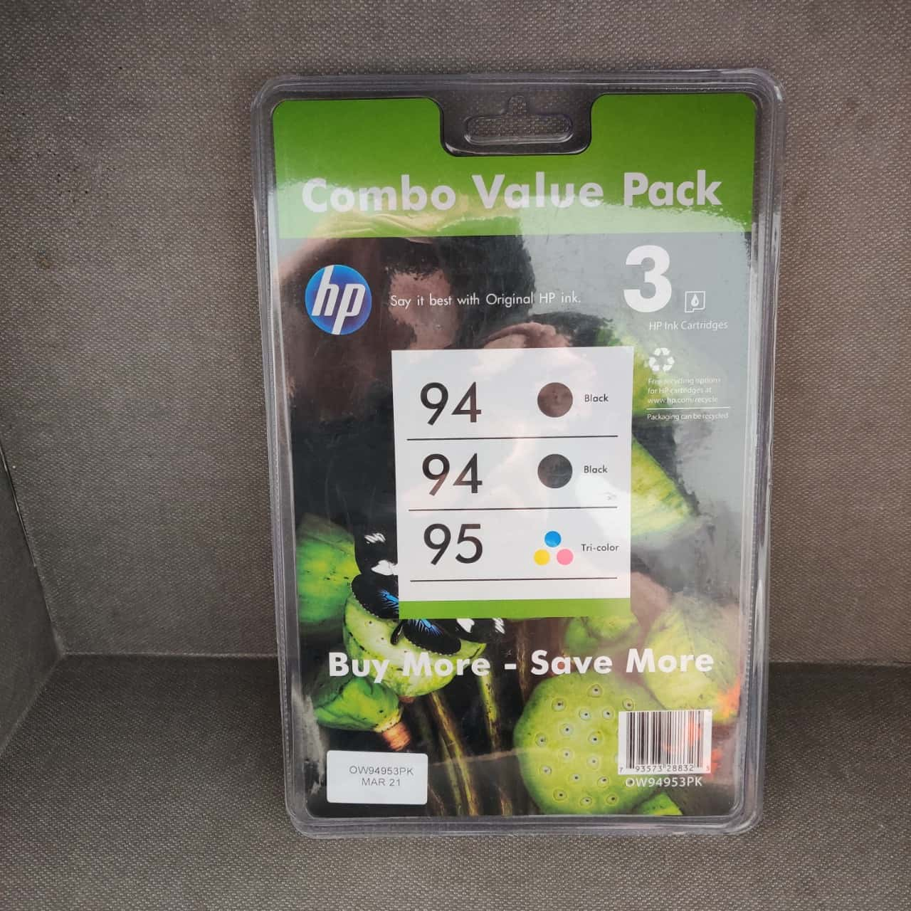 HP 94 & 95 Inkjet Cartridges for HP Deskjet printers as per photo list