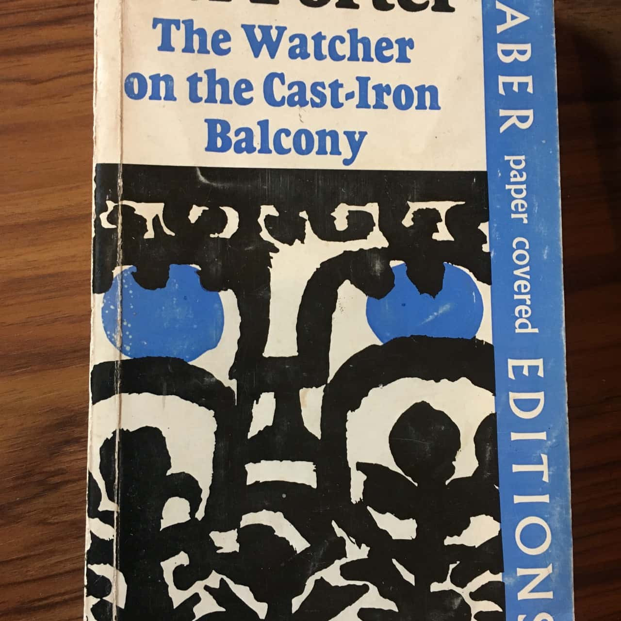 The Watcher on the cast-iron Balcony by Hal Porter