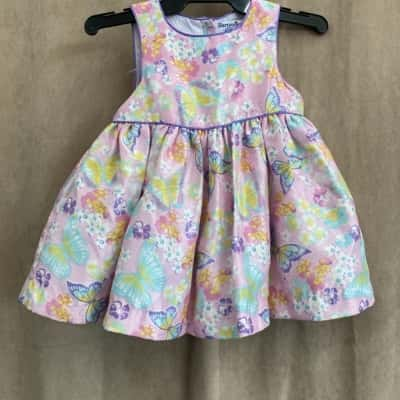 Hartstrings Kids Size 6-9Month Dress Pink
