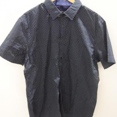 Tarocash Mens  Size XL Short Sleeve Navy Blue