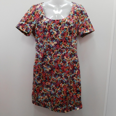 Review Formal Dress/Cocktail Dress/Floral Dress/Midi Dress