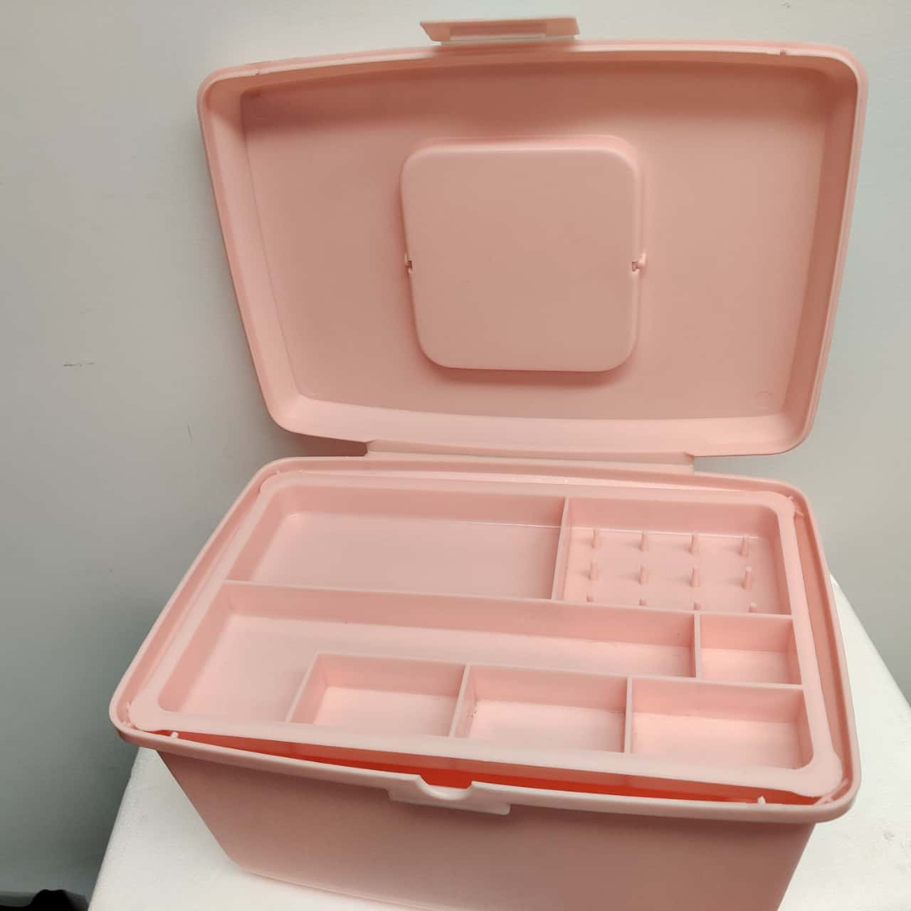 Singer Sewing Machine Box with Insert - Vintage Plastic