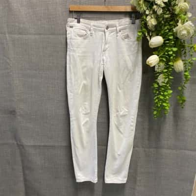 Citizens of Humanity Womens Denim Pants Size 27 White