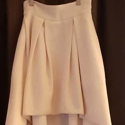 Sheike Asymmetrical Dusty Pink Skirt Size 6