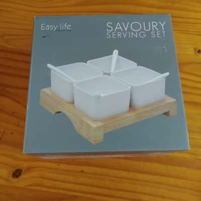 Easy Life Savoury Serving Set Brand New