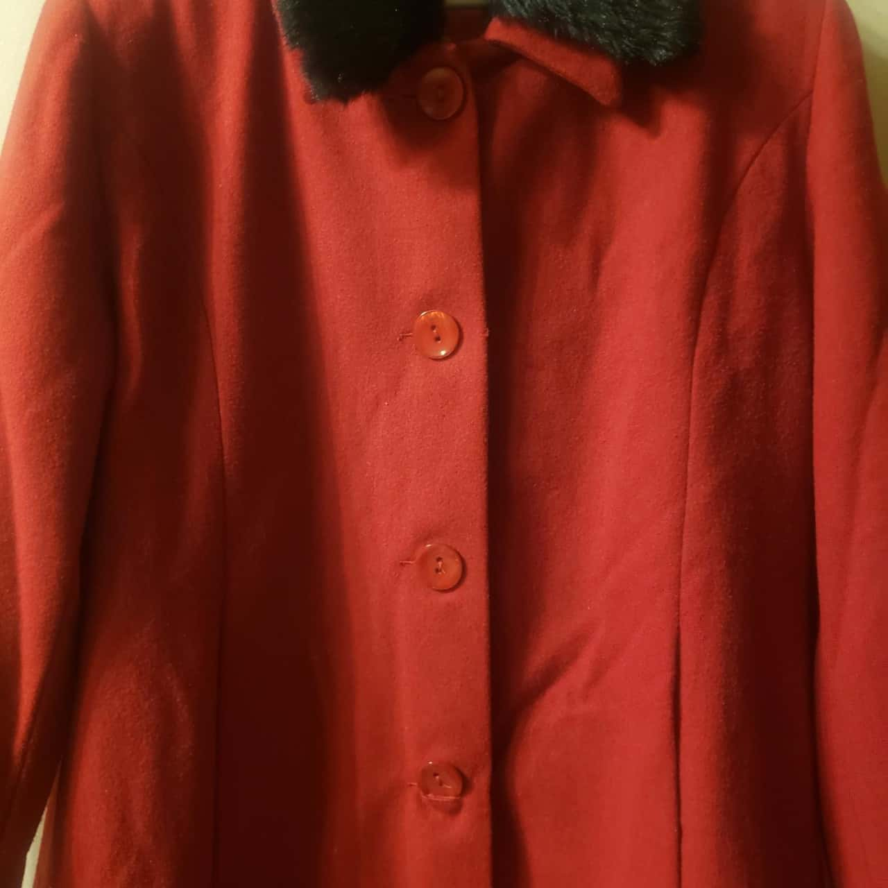 Womens Size 14 Red Coat